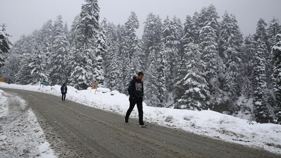 Сняг в Индия