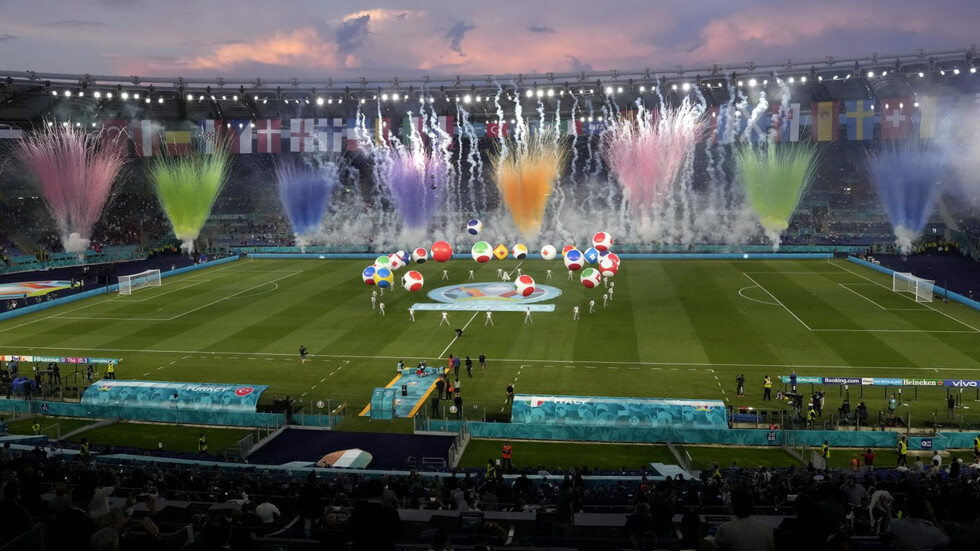 Откриха UEFA EURO 2020 със зрелищен спектакъл в Рим