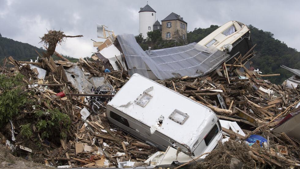 След стихията в Германия