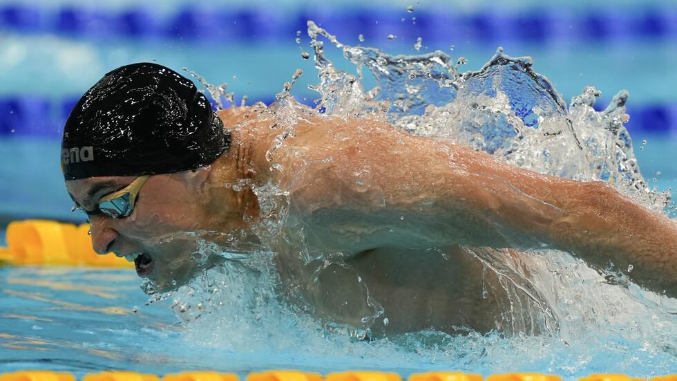 Йосиф Миладинов се класира за полуфиналите на 100 м бътерфлай в Токио