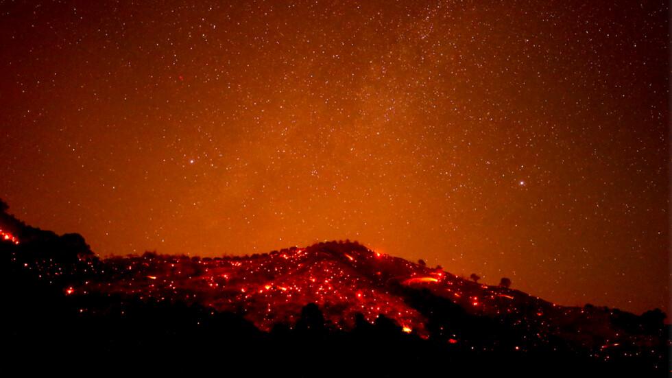 Голям горски пожар в Калифорния