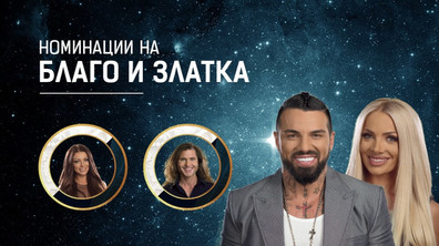 Номинациите на Златка и Благой - Big Brother: Most Wanted 2018