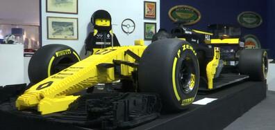 Лего кола на търг и сауна маратон