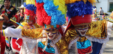 Детски карнавал в Колумбия
