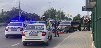 Гонка в София завърши с четирима задържани