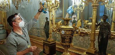 В Мадрид се подготвят за отварянето на кралския дворец.