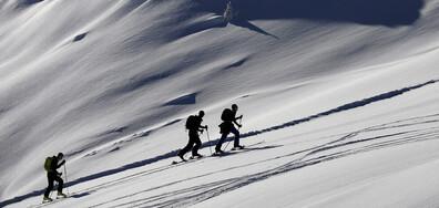Скиори без лифт във Франция