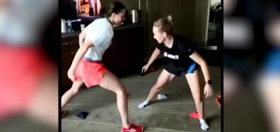 """Ига Швьонтек се подготвя за Australian Open в стил """"карантина"""""""