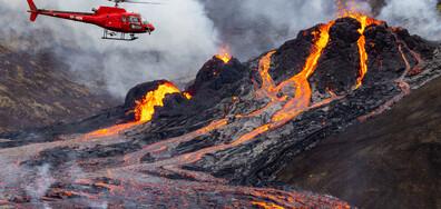 Вулканът в Исландия продължава да бълва лава