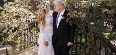 Борис Джонсън се ожени на тайна церемония