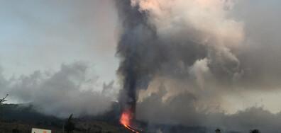 Изригна вулканът Кумбре Виеха на Канарския остров Ла Палма