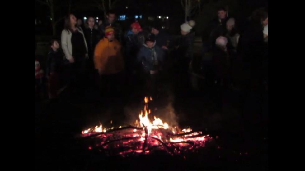Сирни-прескачане на огъня за здраве в Разград!