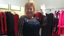 Баба Люси от X Factor става манекенка