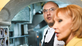 В кухнята на шеф Манчев