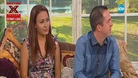 """""""На кафе"""" с Ирена от Big Brother и годеника й Бен"""