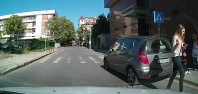 Паркиране в кръстовище и пешеходна пътека