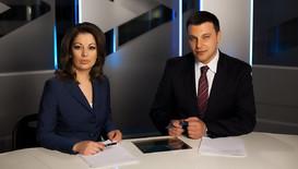 Даниела Тренчева и Христо Калоферов водещи на Новините на NOVA