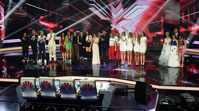 Първи лайв концерт в X Factor