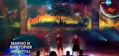 Милена, Марио и Виктория - If I Ain't Got You - X Factor Live